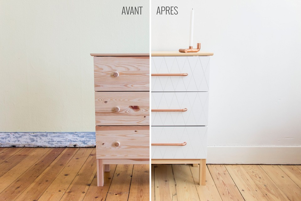 Ikea hacks le do it yourself pour relooker vos meubles for Relooker meuble ikea