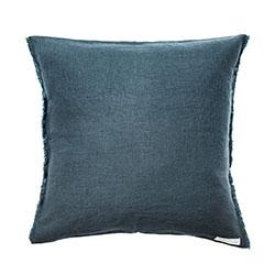 coussin lin bleu Royal Design