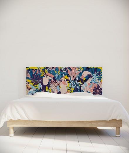 Morgane Bezou tête de lit Faune