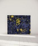 Tête de lit 140 cm Bleu Morgane Bezou Flore