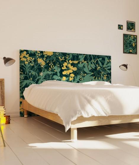 Tête de lit 160 cm Vert Morgane Bezou Flore