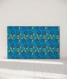 Tête de lit 180 cm Bleu Myriame El Jorfi Bar'