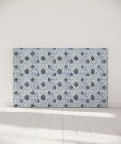 Tête de lit 180 cm Bleu Myriame El Jorfi Hak'