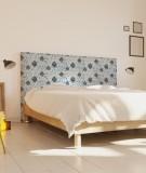 Tête de lit 160 cm Bleu Myriame El Jorfi Hak'
