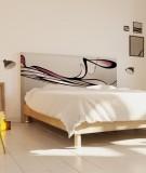 Tête de lit 160 cm Noir Rose Eclisse Svefn-G-Englar