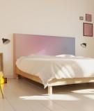 Tête de lit 160 cm Rose Emmanuel Somot Gradient