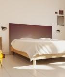 Tête de lit 160 cm Marron Emmanuel Somot Gradient