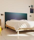 Tête de lit 160 cm Bleu Emmanuel Somot Gradient