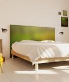Tête de lit 160 cm Vert Emmanuel Somot Gradient
