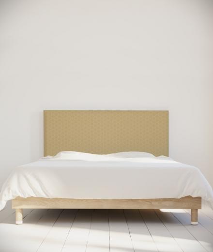 Tête de lit 160 cm Beige Emmanuel Somot Facette