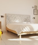 Tête de lit 160 cm Blanc Emmanuel Somot Constellation