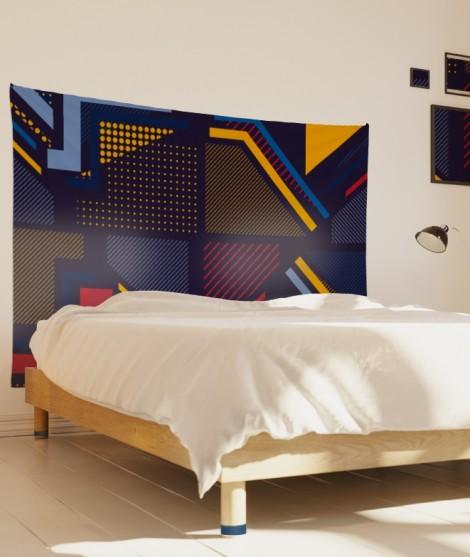 tenture-M-lit-160-bleu-alexia-schroeder-architecture