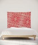 tenture-chambre-S-lit-140-rouge-paraja-aloe