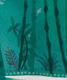 tete-de-lit-tissu-vert-suzy-vergez-foret