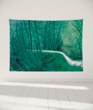tapisserie-murale-L-lit-180-vert-suzy-vergez-foret