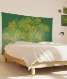 tenture-M-lit-160-vert-fonce-jennifer-yerkes-fleurs-d-inde
