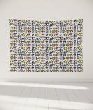 tapisserie-murale-L-lit-180-bleu-jaune-rouge-petit-myriame-el-jorfi-han