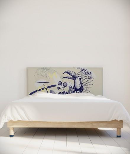 Missy tête de lit Toucan