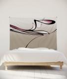 tenture-M-lit-160-noir-blanc-rose-eclisse-svefn-g-englar