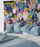 tapisserie-M-lit-160-rose-jaune-bleu-morgane-bezou-faune