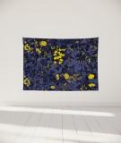 tenture-murale-S-lit-140-bleu-fonce-morgane-bezou-flore