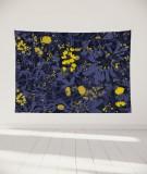 tapisserie-murale-L-lit-180-bleu-fonce-morgane-bezou-flore