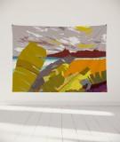 tapisserie-murale-L-lit-180-jaune-coco-hellein-nitero