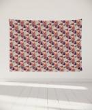 tapisserie-murale-L-lit-180-rouge-Uroko-paraja