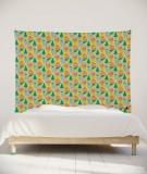 tenture-murale-L-lit-180-jaune-Uroko-paraja