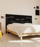 Tête de lit 160 cm Noir Axelle Grosperrin Végétal