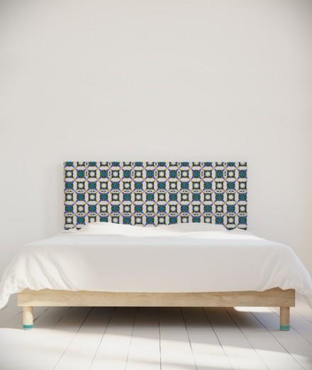 Tête de lit 160 cm Turquoise Maya Thomas Blattidae
