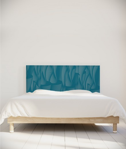 Falaise - tête de lit tissu