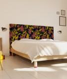 Tête de lit 160 cm Noir Marion Hamaide Flamant