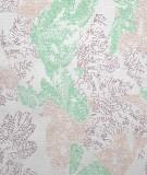 Tête de lit tissu - motif végétal