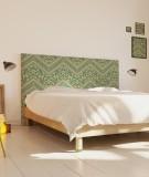 Tête de lit ambiance chalet