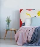 Tête de lit enfant - planètes