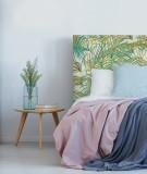 Tête de lit personnalisée - motif palmiers