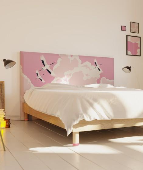 Tête de lit tissu originale