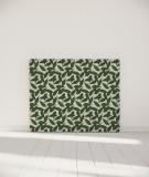 tête de lit déco - motif feuilles