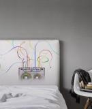 Tête de lit cassettes années 80