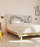 Tête de lit tissu 160cm