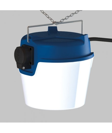 BASE DOME - 3400 lumens - 220 Volts - IP 65 - Made in Germany