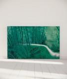Tête de lit 180 cm Vert Suzy Vergez Forêt