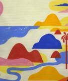tête de lit palmiers