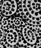 Tête de lit Gris Suzy Verguez Spirales