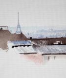 Tête de lit Blanc Hossein Borojeni Toits de Paris