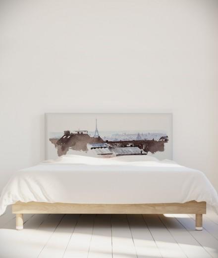 Hossein Borojeni tête de lit Toits de Paris