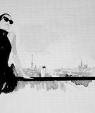 Tête de lit Noir Blanc Hossein Borojeni Terrasse