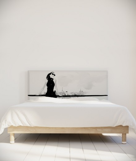 Hossein Borojeni tête de lit Terrasse