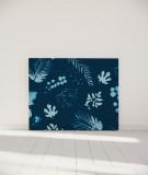 Tête de lit 140 cm Bleu Coco Hellein Sifnos